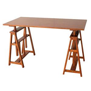 hommage オマージュ Atelier テーブル アンティーク HMT-2665BR (代引き不可)【送料無料】【S1】