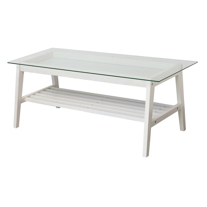 テーブル ガラステーブル センターテーブル テーブル ガラステーブル コーヒーテーブル ローテーブル シンプル(代引不可)【送料無料】