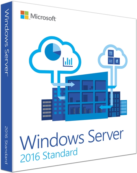日本マイクロソフト Windows Server2016 Standard 64 Bit 日本語版DVD (16コアライセンス、10CAL付き) P73-07075(代引き不可)
