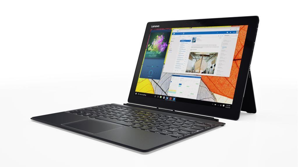 レノボ Lenovo ideapad Miix720(12.0/i5-7200U/8GB/256GB/Win10Pro/エボニーブラック) 80VV003WJP(き)【ポイント10倍】