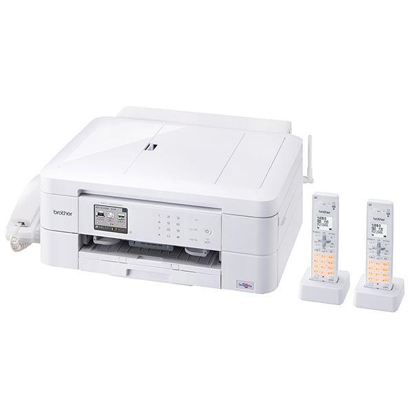 ブラザー工業 PRIVIO A4インクジェット複合機(プリンター/ファクス/スキャナー/コピー/ダイレクトプリント/CD・DVD・BD印刷/無線・有線LAN/USB/受話器付/子機2台)MFC-J997DWN(代引き不可)