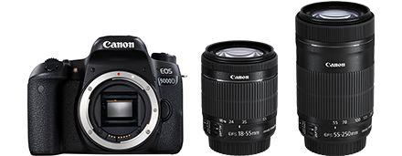 買い誠実 キヤノン <EOS>Canon デジタル一眼レフカメラ EOS 9000D・ダブルズームキット(2420万画素/ブラック)[1891C003] EOS9000D-WKIT(き), いいものハウス 6a5c146d