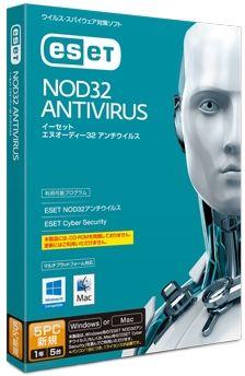 キヤノンITソリューションズ ESET NOD32アンチウイルス Windows/Mac対応 5PC CITS-ND10-051(代引き不可)