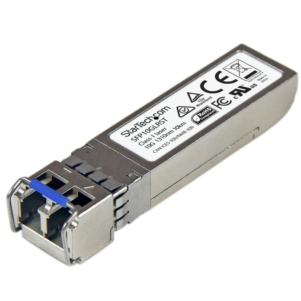 StarTech 10ギガビットSFP+光トランシーバモジュール Cisco製SFP-10G-LR互換 シングルモード LCコネクタ 10km デジタル診断モニタ(DDM)対応mini GBIC SFP10GLRST(代引き不可)