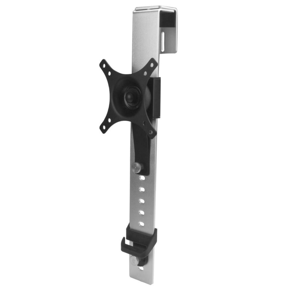 StarTech パーティションパネル用シングルモニターマウント 高さ調整機能付き 最大モニターサイズ 30インチ 最大モニター重量 9kg ARMCBCL(代引き不可)