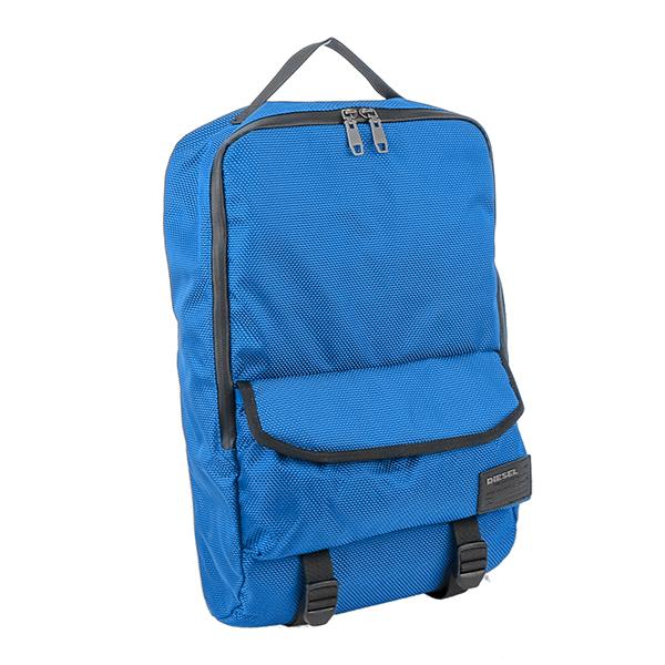 ディーゼル DIESEL メンズ リュック バックパック X04008-PR027-T6084 ブルー【送料無料】