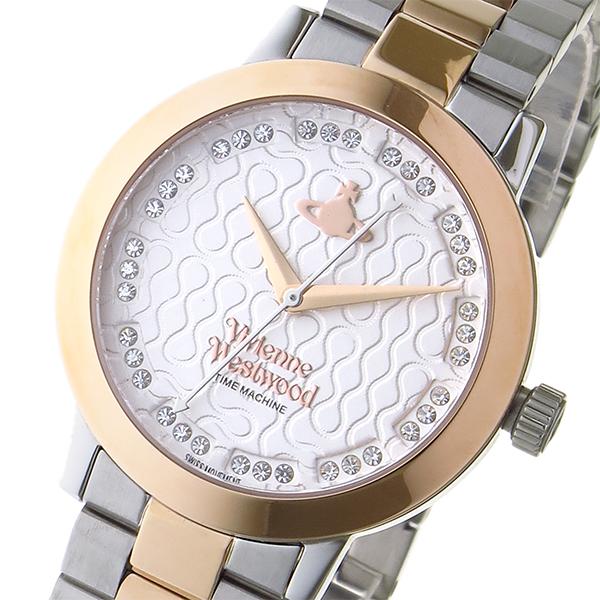 ヴィヴィアン ウエストウッド ブルームズベリー 36ptクリスタル レディース 腕時計 VV152SRSSL シルバー【送料無料】