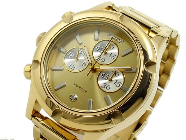 ニクソン NIXON CAMDEN CHRONO クロノグラフ 腕時計 A354-1219 ゴールド【送料無料】【S1】