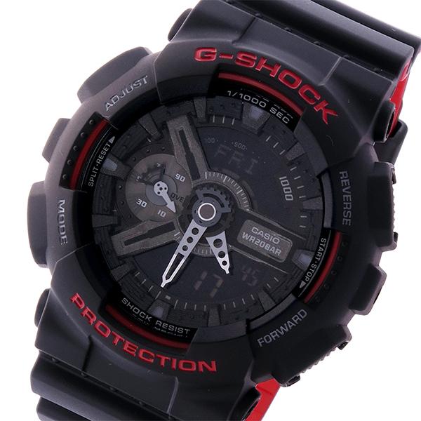 カシオ CASIO Gショック G-SHOCK スペシャルカラー メンズ 腕時計 GA-110HR-1A ブラック【送料無料】