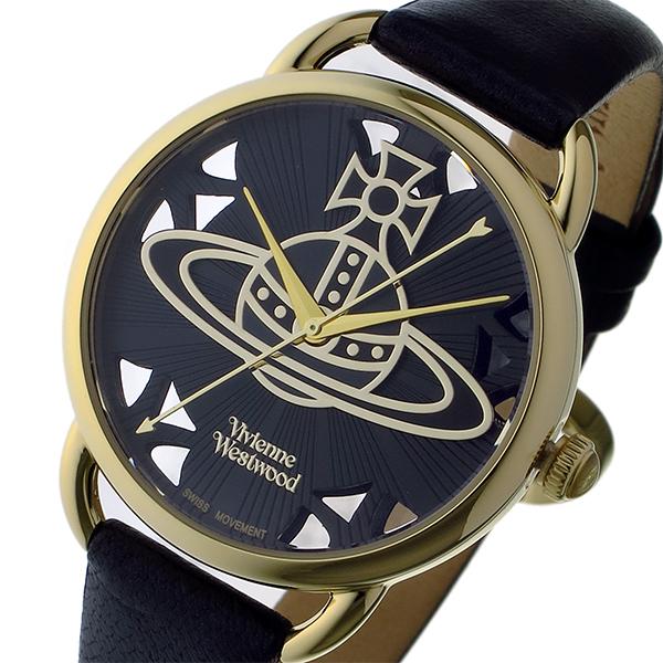 ヴィヴィアン ウエストウッド リーデンホール レディース 腕時計 VV163BKBK ブラック【送料無料】
