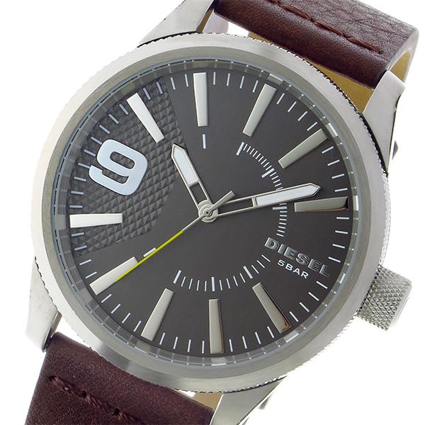 ディーゼル DIESEL ラスプ RASP クオーツ メンズ 腕時計 DZ1802 シルバー【送料無料】