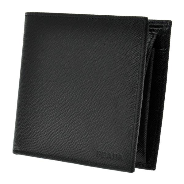 プラダ PRADA 二つ折り 短財布 メンズ 2MO738SAFF-NER【送料無料】