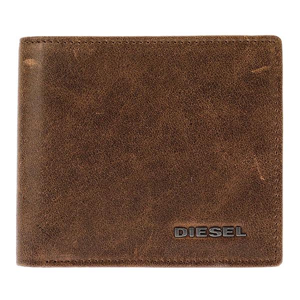 ディーゼル DIESEL メンズ 二つ折り 短財布 小銭入れ付 X03363-P1075-H6183【送料無料】