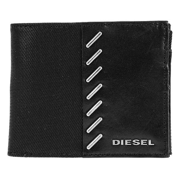 ディーゼル DIESEL メンズ 二つ折り 短財布 小銭入れ付 X04350-PR559-T8013【送料無料】