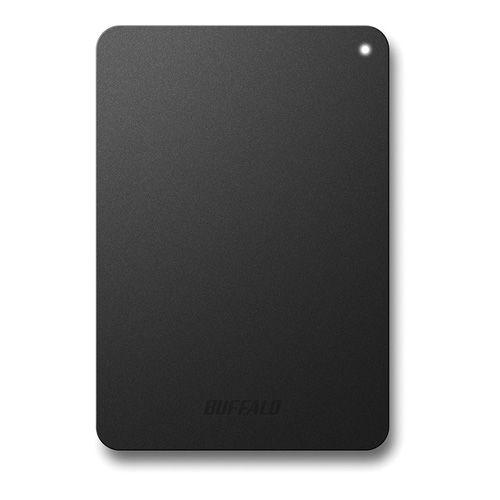 バッファロー 耐衝撃対応 2.5インチ 外付けHDD 1TB ブラック HD-PNF1.0U3-BBE(代引き不可)
