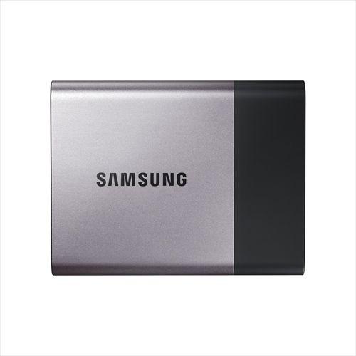 日本サムスン サムスン ポータブルSSD T3シリーズ (1TB) 3年保証 USB3.1接続ケーブルつき MU-PT1T0B/IT(代引き不可)