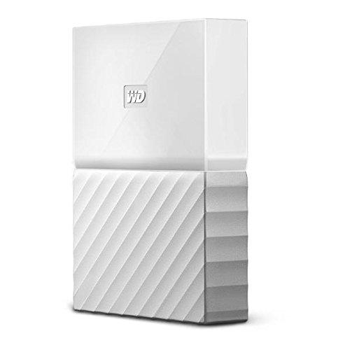 ウエスタンデジタル ポータブルストレージ 4TB ホワイト WDBYFT0040BWT-JESN