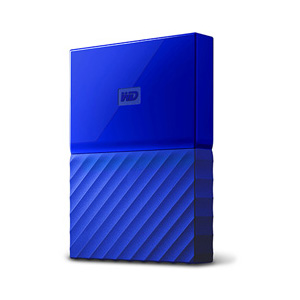 ウエスタンデジタル ポータブルストレージ 1TB ブルー WDBYNN0010BBL-JESN