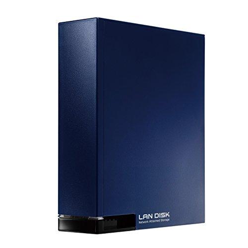 アイ・オー・データ ネットワーク接続HDD(NAS) 2TB ミレニアム群青
