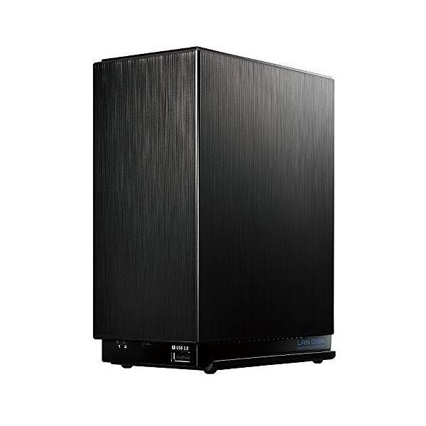 アイ・オー・データ デュアルコアCPU搭載 2ドライブ高速NAS 2TB HDL2-AA2