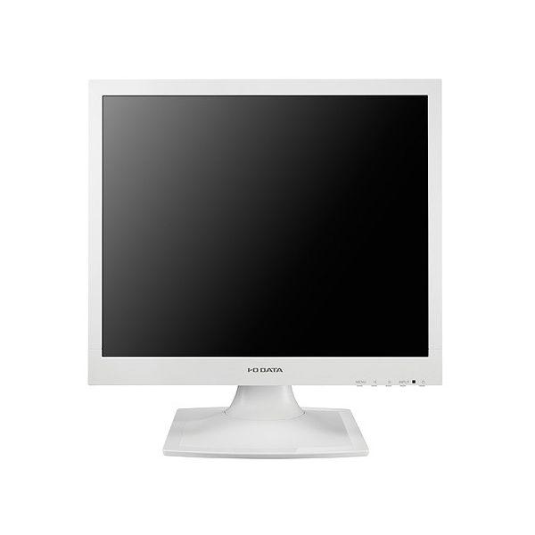アイ・オー・データ 5年保証 フリッカーレス設計採用 17型スクエア液晶ディスプレイ ホワイト LCD-AD173SESW