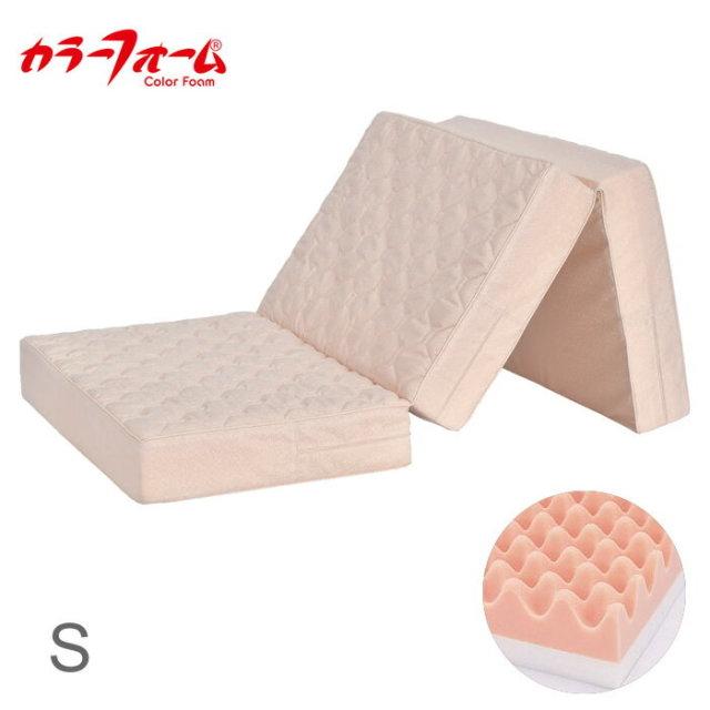日本製 四季具 TATAMU 厚さ10cm 三つ折りマットレス シングル 三つ折り マットレス 厚め プロファイル かため 体圧分散 国産(代引不可)【送料無料】