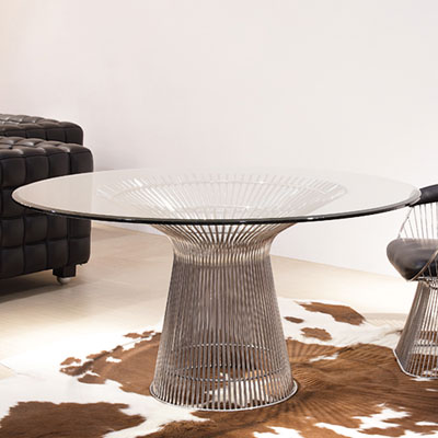 ダイニングテーブル プラットナーダイニングテーブル ウォーレン・プラットナー(代引不可)【送料無料】