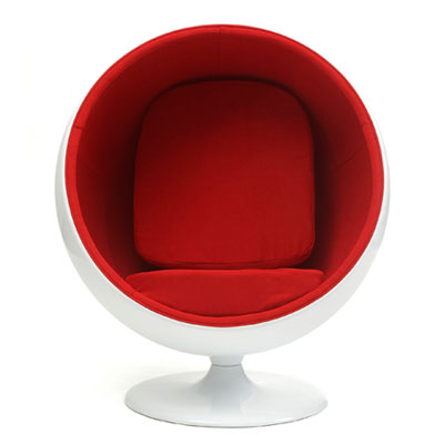 デザイナーズ ラウンジチェア ソファ 通常色 1人掛け パーソナルチェア ボールチェア エーロ・アールニオ(代引不可)【送料無料】
