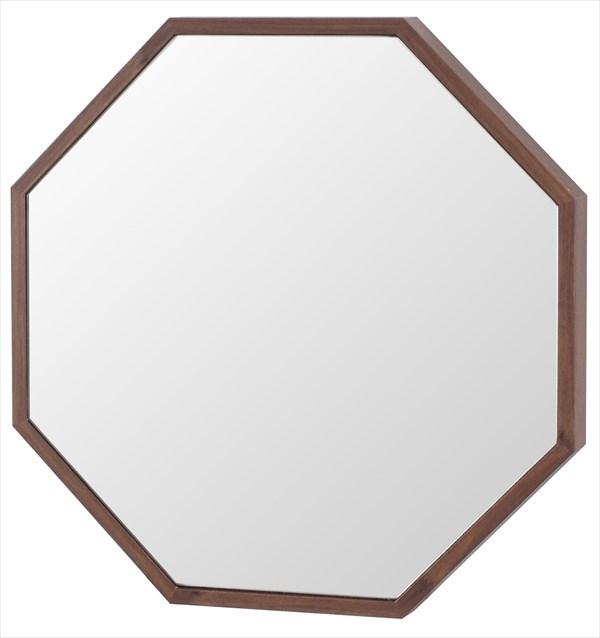 ウォールミラー フィル エイト 壁掛けミラー 八角形 8角形 壁面ミラー かべかけ 吊り鏡 贈り物(代引不可)【送料無料】