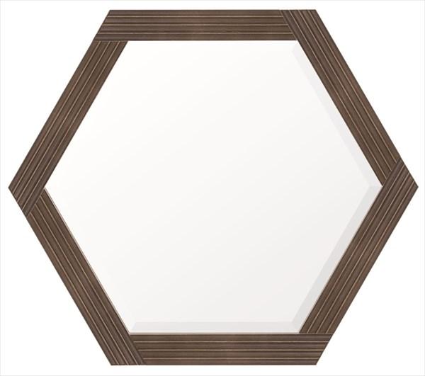 ウォールミラー マルシア 6K 家具 鏡 ミラー 塩川 インテリア(代引不可)【送料無料】