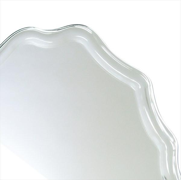 ウォールミラー 吊り鏡 面取り 壁掛けミラー SUC-016 家具 鏡 ミラー 塩川 インテリ(代引不可)【送料無料】