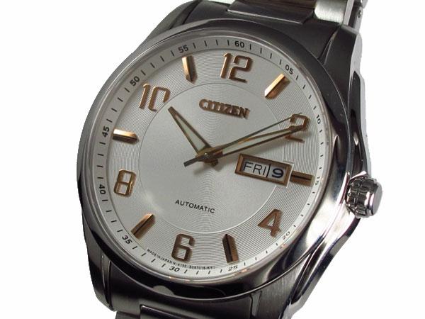 シチズン CITIZEN 腕時計 自動巻き 日本製 メンズ NP4020-60A【ポイント10倍】