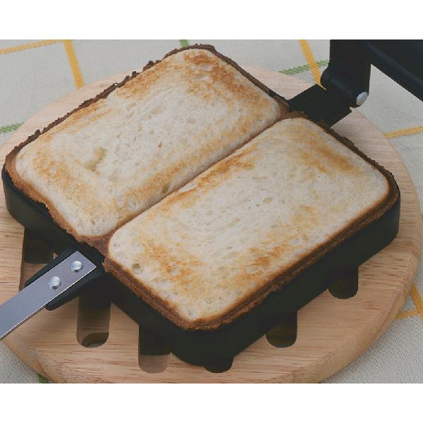 下村企販 ブラックホットサンドメーカー 20415 調理用品 調理用具 キッチン クッキング