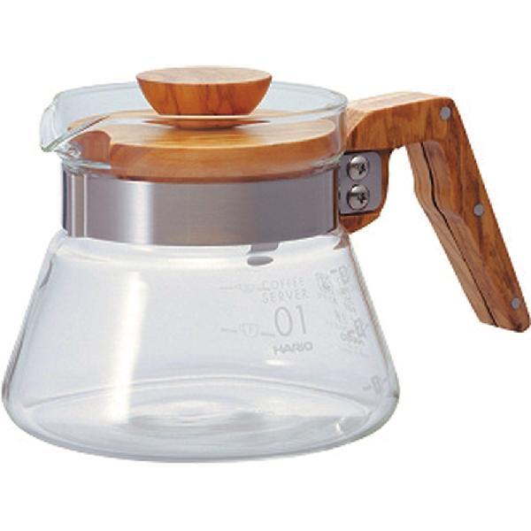 HARIO (ハリオ) コーヒーサーバー 600 オリーブウッド VCWN-60-OV【ポイント10倍】【送料無料】
