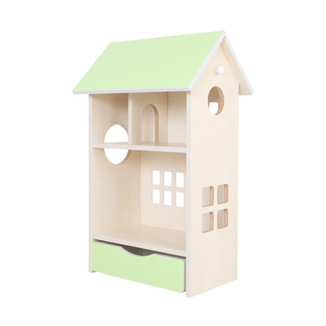 ドールハウス シェルフ 木製 かわいい インテリア 子供 子供部屋 飾り 小学生(代引不可)【送料無料】【int_d11】