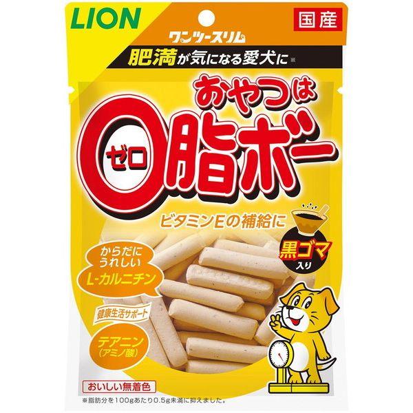 ライオン商事 うちの子想いおやつゼロ脂ボー黒ゴマ80g【ポイント10倍】