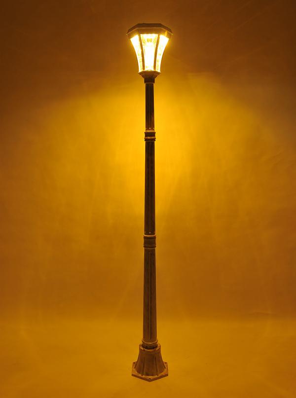 ヨーロピアンソーラー LED街灯 ガーデンライト ソーラー ソーラーライト(代引不可)【送料無料】
