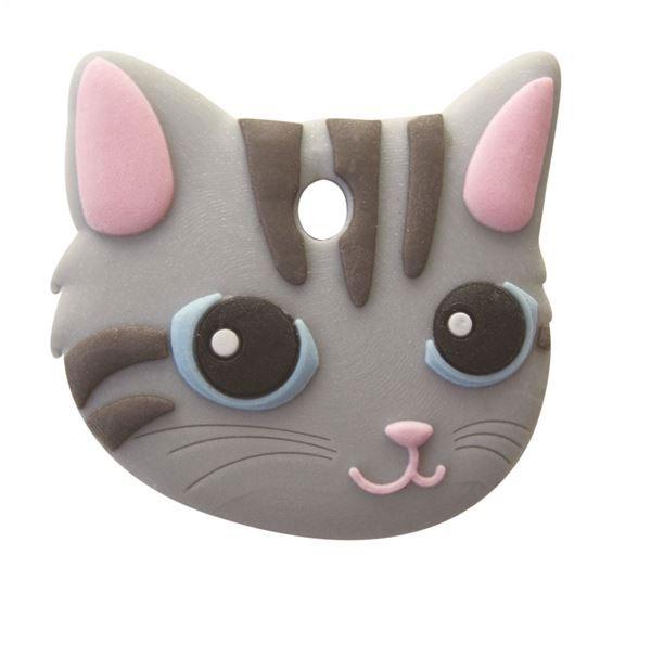 ペットキーカバー 猫 サバトラ【ポイント10倍】