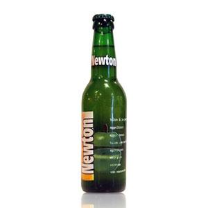 ベルギー ニュートン(青リンゴビール) 瓶 輸入ビール 330ml×24本【S1】