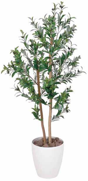 アートグリーン 人工観葉植物 光触媒 光の楽園 オリーブ1.2(代引き不可)【送料無料】【int_d11】