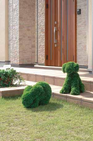 アートグリーン 人工観葉植物 光触媒 光の楽園 イヌS(代引き不可)【送料無料】【int_d11】