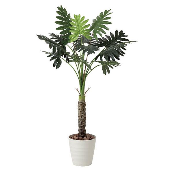 アートフラワー 人工観葉植物 光触媒 光の楽園 セロ-ム1.3 (代引き不可)