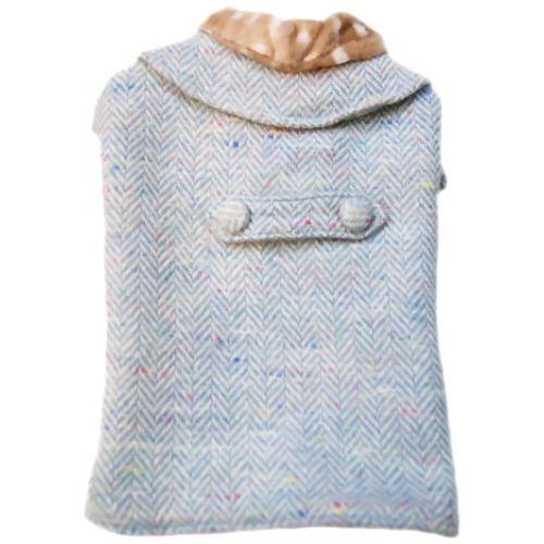 フィリップちゃんのお出掛け用ロングコート (ブルー)():リコメン堂