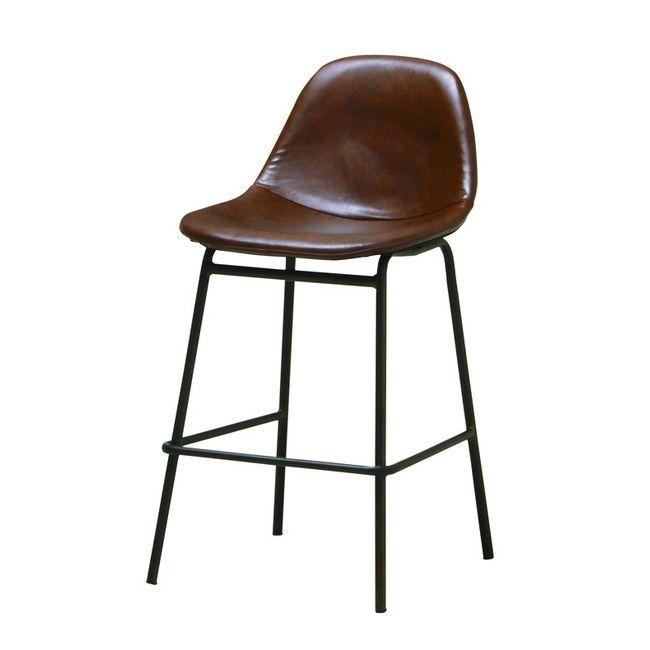 エヴァンス ハイチェア シェル型 EVS-CP2 エヴァンス ハイチェア バーチェア カウンター椅子 シェル型(代引不可)【送料無料】