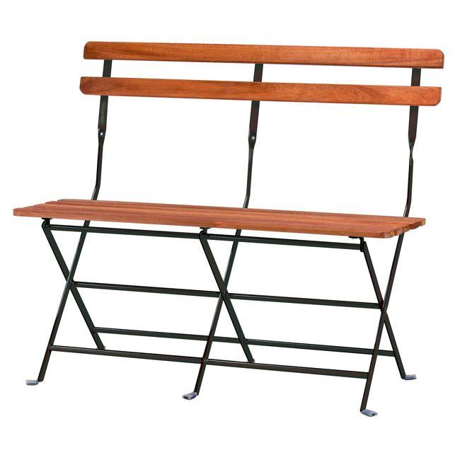 プレリ フォールディングベンチ PRE-B91 ベンチ 腰掛いす 持ち運び カフェ テラス ガーデン 庭(代引不可)【送料無料】