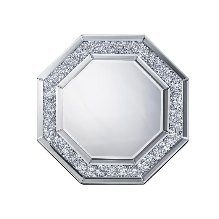 鏡 壁掛け 卓上 2way ミラー クロシオ 八角ミラー ダイヤ ミラー(代引不可)【送料無料】