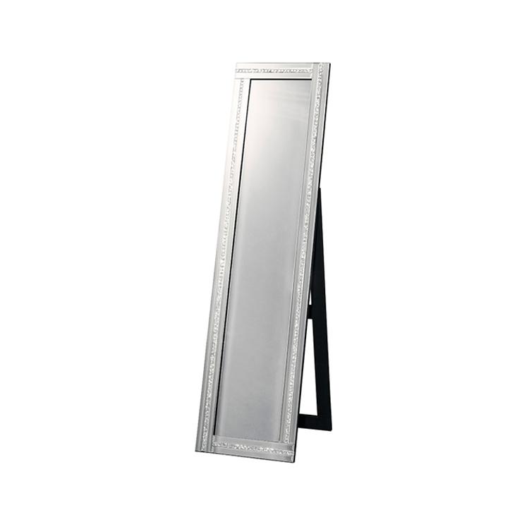 鏡 全身 姿見 全身鏡 ミラー クロシオ スタンディングミラー1ライン ミラー(代引不可)【送料無料】