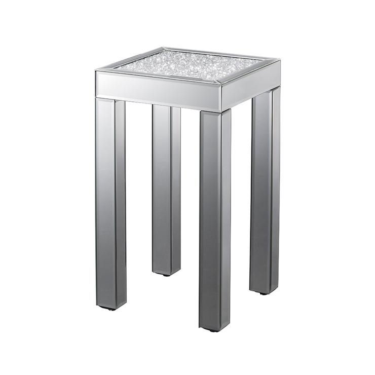 テーブル 鏡 ミラー クロシオ ダイヤテーブル ハイ ミラー(代引不可)【送料無料】