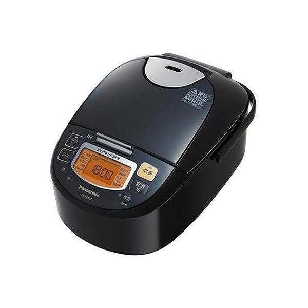 パナソニック IH炊飯器 5.5合 SR-FC107-K ステンレスブラック(代引不可)【送料無料】
