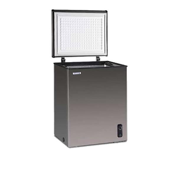 ノーフロスト ステンレス製冷凍庫 100L JH100CR(代引不可)【送料無料】